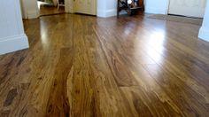Smoked Eucalyptus flooring from Greenwood.