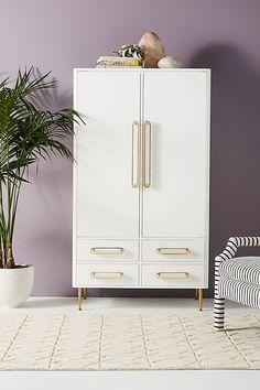 Slide View 1 Odetta Armoire New Furniture Apartment Furniture Furniture Making