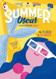 Carlotta Scalabrini - Summer Oscar Poster