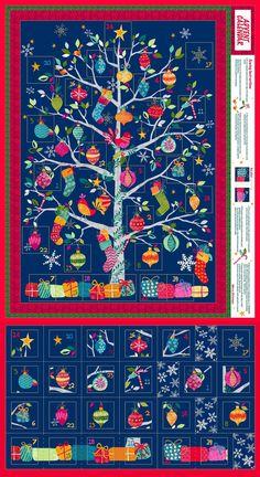 Adventkalender zum Nähen