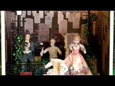 Hallowe'en Zombie Dolls' House - by The Dolls House Emporium