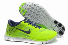sports shoes 2a7d4 2799c Mens Nike Free 4.0 V2 Fluorescence Green Deep Purple Shoes under   50.00  Superstar, Tn