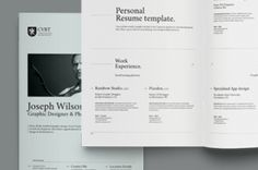 this is a modern and clean resume letter template you can add your