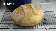 Artisan Bread Recipes, Yeast Bread Recipes, Dutch Oven Recipes, Baking Recipes, Roti Bread, No Knead Bread, Dutch Oven Bread, Best Breakfast Recipes, Easy Bread
