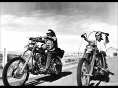 "Easy Rider Soundtrack (1969) 1. ""The Pusher"" - Steppenwolf 2. ""Born To Be Wild"" - Steppenwolf 3. ""The Weight"" - Smith 4. ""Wasn't Born To Follow"" - The Byrds 5. ""If You W..."