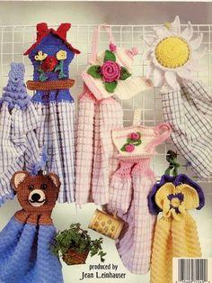 I-Dozen Towel Toppers Crochet Pattern,