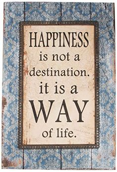 Sass & Belle Wood Happiness is A Way of Life Vintage Plaque, Multi-Colour Sass & Belle http://www.amazon.co.uk/dp/B00OBRXCQM/ref=cm_sw_r_pi_dp_jraPvb1BSMWEE