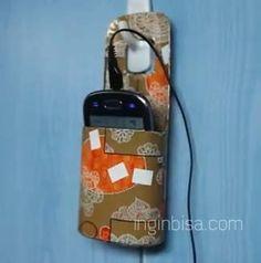 Tutorial Cara Membuat Tempat Handphone Dari Botol Bekas Shampo