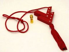 """Vintage Extremely RARE Red Runway """"VALENTINO DOUBLE V"""" Perfume Necklace W/PARFUM $ 275. We had one like this in black in the store that I worked for on Madison Avenue."""