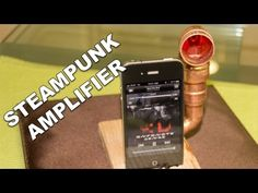 """Create a simple, powerless amplifier for your phone/mp3 player! Using a piece of wood, some copper pipes and a few tools we can tunnel through and create a """"loud speaker"""" to amplify our music without the need for wires. The sound will travel through the holes and out of the horn at the top. Music by: Everything Under (EU) Check them out here: http://www.youtube.com/everythingundereu Download on iTunes: http://bit.ly/gwzo8d"""