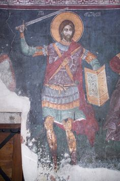 Al-Awlaqi was not a suspected terrorist, he was a blatant active one who was seen on video himself advocating armed conflict with the United States. He was wanted dead or alive by the US government, . Byzantine Army, Hellenistic Art, Christian Artwork, Orthodox Icons, Roman Empire, Fresco, Medieval, Saints, Germany