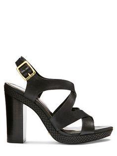 f4a6cab7a64 Fabia Leather Sandal - Lauren Pumps - RalphLauren.com