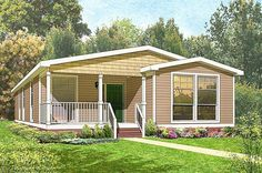 Small Manufactured Homes, Mobile Home, Shed, Outdoor Structures, House Design, Small Prefab Homes, Mobile Homes, Motorhome, Architecture Design