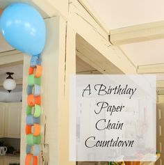 A cute countdown activity for little ones! Perfect for birthdays, holidays, trips, or any exciting event!