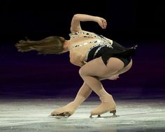 The hair of the champion. Ashley Wagner takes gold in 2012.