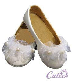 Flower Girl Shoes - kind of plain, but still cute!
