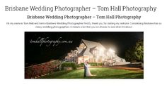 Tom Hall is one of Australia's most awarded wedding photographers accepting bookings in Brisbane and the rest of Australia. If you value your memories and would like to ensure your wedding is captured beautifully, check out Tom Hall Photography today.