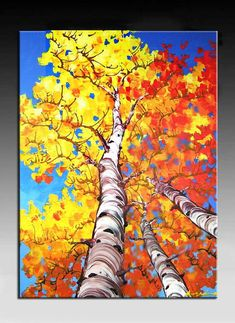 Landscape Painting, Abstract Painting, HUGE Original DEEP Artist Canvas Palette Knife Painting,  Textured   Ready to Hang