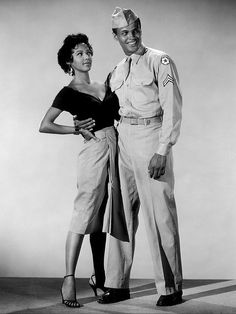 ✯ Dorothy Dandridge and Harry Belafonte - Black Hollywood Series :: By Black History Album on Flickr ✯