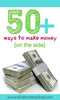 It's here! 50+ of the best money making ideas for 2016 - these are specific ways you can make extra money from home, in addition to your regular job. Flexible jobs and business you can start in your spare time - whether you are into writing, photography,