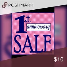 👌👌ONE YEAR ANNIVERSARY SALE👌👌 I'm making all kinds of deals 😀😀!! Submit your best offer, no price firm during this celebration!              Almost one year on Posh 😎😎👌👌!! Yay!! Dresses Maxi