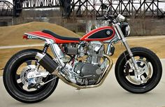 Mule Motorcycles Yamaha XS650 street tracker