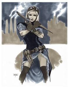 Steampunk Buffy The Vampire Slayer - LSCC 2015 Pre-Show Commission