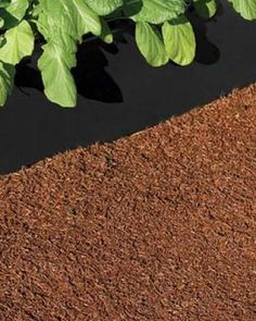 hmmmm recycled rubber mulch carpet prevents weeds