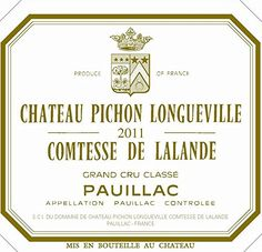 2011 Pichon Longueville Comtesse de Lalande Pauillac Bordeaux L *** Learn more by visiting the image link. (This is an affiliate link) Bordeaux 1, Grand Cru, Cabernet Sauvignon, Pinot Noir, Red Wine, Image Link, Learning, Check, Bottle