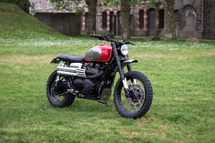 The ultimate Triumph Scrambler 900 built by BAAK Motocyclettes.