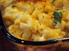 Lighter Mac and Cheese with Pureed Cauliflower