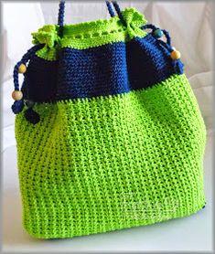 Evkino - môj farebný svet: Zeleno-modrá taška