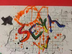 Less Talk, More Art: A middle school art ed blog: Graffiti name designs