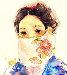 Park Ha Sketch - Rooftop Prince