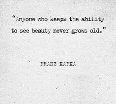 Franz Kafka | beauty