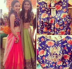 Papa don't preach lehenga - nice bloouse shape
