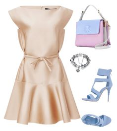 """Без названия #34"" by real-eu on Polyvore featuring мода, Paule Ka, Le Silla и Versace"