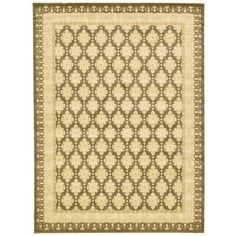 World Menagerie Fonciere Brown Area Rug Rug Size: