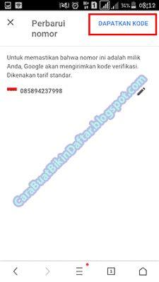 13 Ide Ganti No Pemulihan Cara Mengganti Nomor Hp Di Gmail Akun Google Pemulihan Nomor Telepon Google