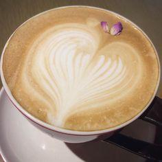 #coffee #heart #latte #heartcoffee by aliceeeexoxo