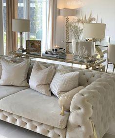 Living Roon, Beige Living Rooms, Decor Home Living Room, Home Office Decor, Living Room Interior, Home Interior Design, Living Room Furniture, Living Room Designs, Bedroom Decor