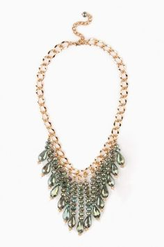 Fayette Necklace in Green