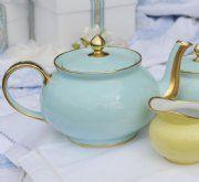 Limoge Pastel Blue & Yellow xx