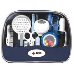 #10: The First Years American Red Cross Deluxe Baby Healthcare and Grooming Kit.