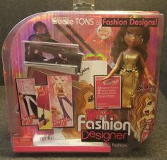BRATZ FASHION DESIGNER **SASHA** THE ONLY GIRLS WITH A PASSION FOR FASHION | eBay