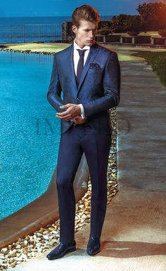 EG 1715-17 #sposo #groom #suit #abito #wedding #matrimonio #nozze #blu #blue