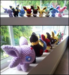close ups and other pokemon here my store (if you see something you want that is… – Best Amigurumi Kawaii Crochet, Crochet Geek, Cute Crochet, Crochet Crafts, Yarn Crafts, Knit Crochet, Pokemon Crochet Pattern, Crochet Patterns Amigurumi, Crochet Dolls