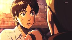 "I feel like Levi would say in this part ""Hey babe."" But then Eren is like ""OHGODOHGODOHGOD!"""