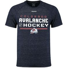 Colorado Avalanche Reebok Center Ice Locker Room Supremium Performance T-Shirt - Navy