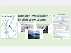Send your class on an investigation. A impossible monster has been sighted and. Ks2 English, Primary English, Non Chronological Reports, Report Writing, Writing Lessons, Escape Room, English Lessons, Investigations, Teaching Resources